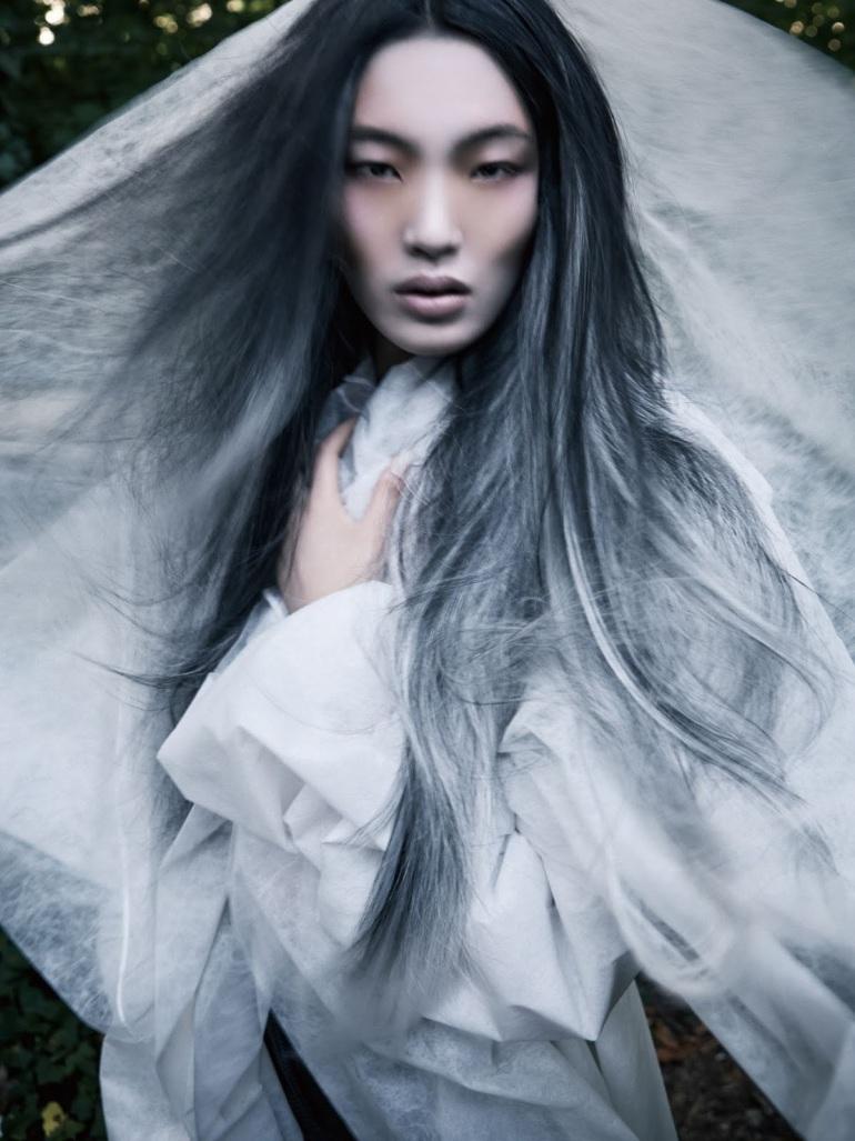 Chiharu Okunugi By David Dunan For Vogue China4