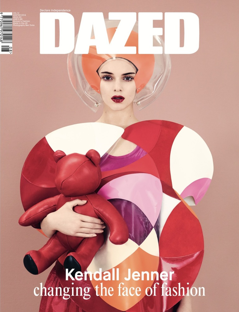 Kendall Jenner By Ben Toms For Dazed Winter 2014 1