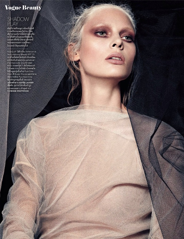 Billie Scheepers 'The New Silhouette' Vogue Thailaind 3