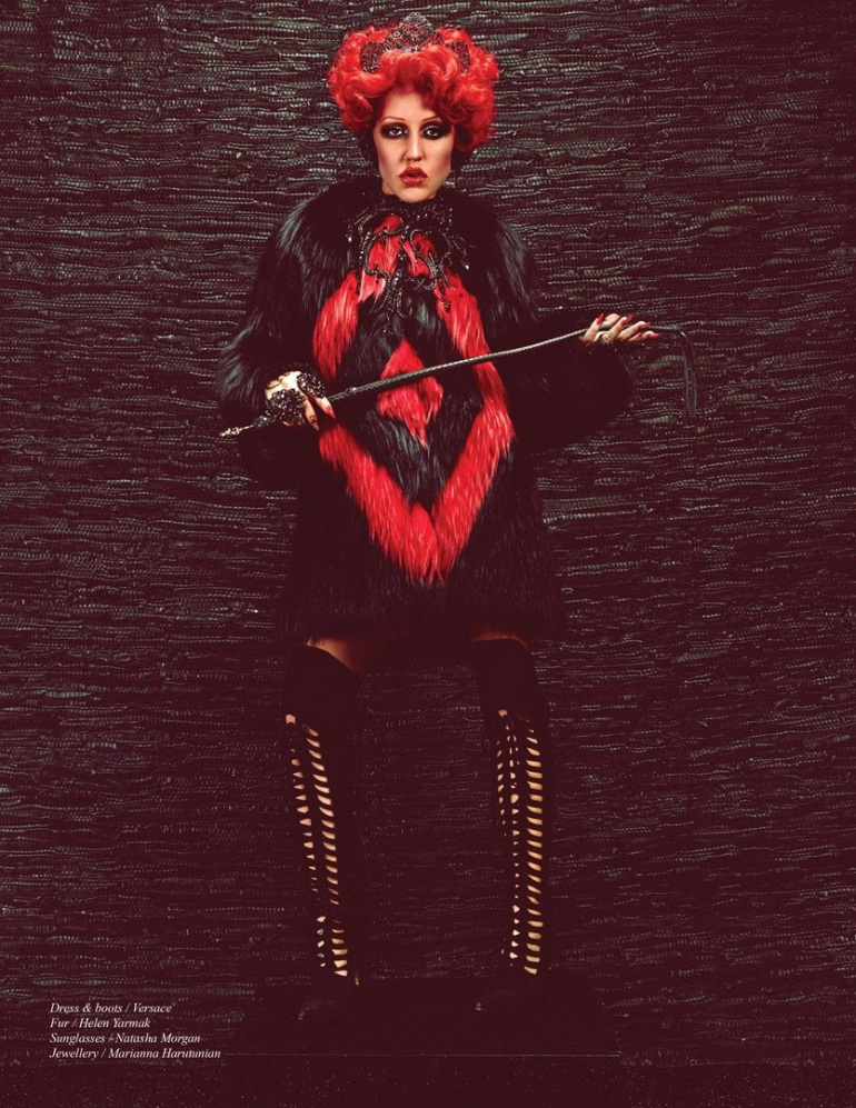Brooke Candy by Michael Flores for Schön! #27 8