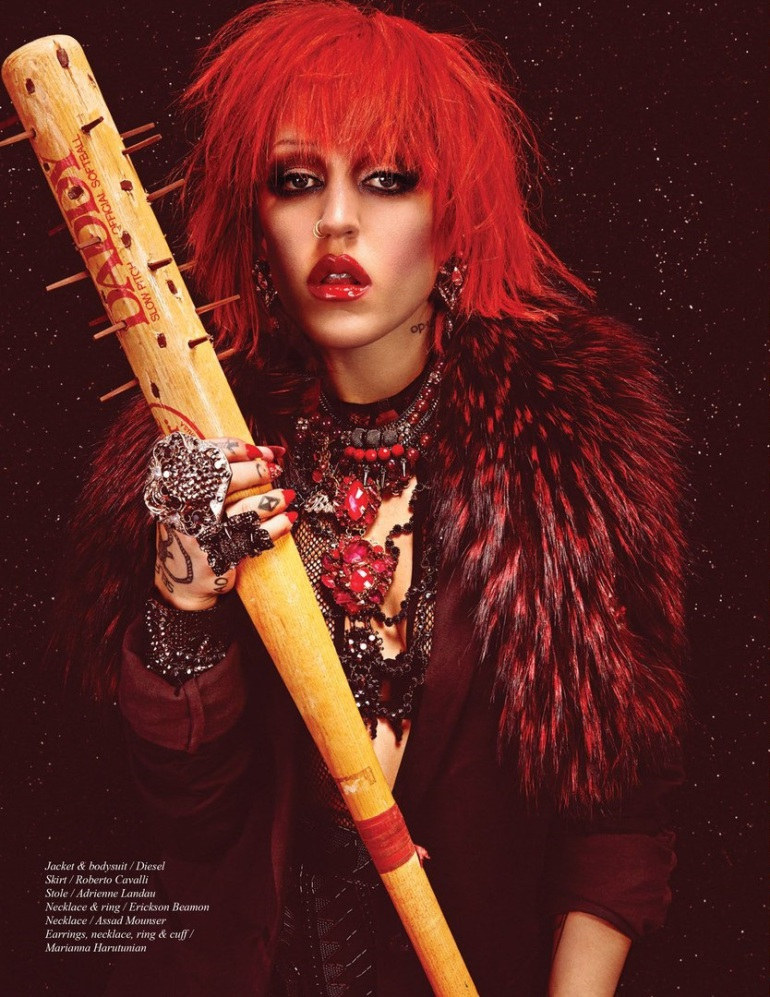 Brooke Candy by Michael Flores for Schön! #27 9
