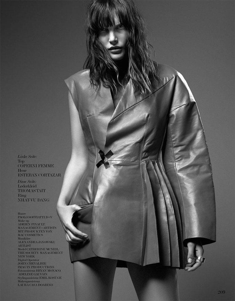 Catherine Mcneil By Dario Catellani For Interview Germany 15