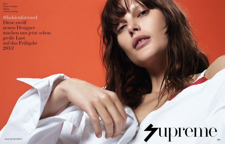 Catherine Mcneil By Dario Catellani For Interview Germany 2