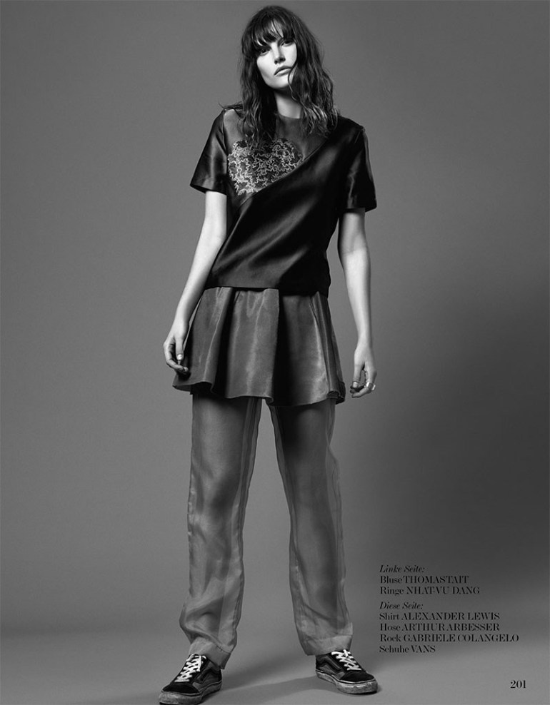 Catherine Mcneil By Dario Catellani For Interview Germany 5