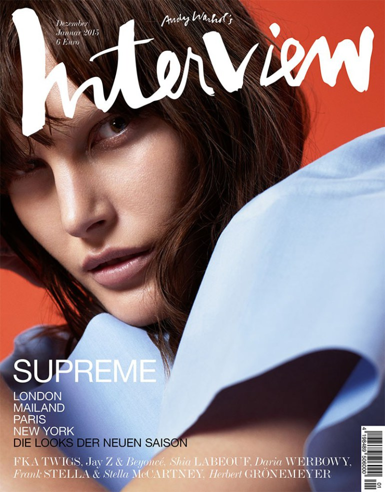 Catherine Mcneil By Dario Catellani For Interview Germany
