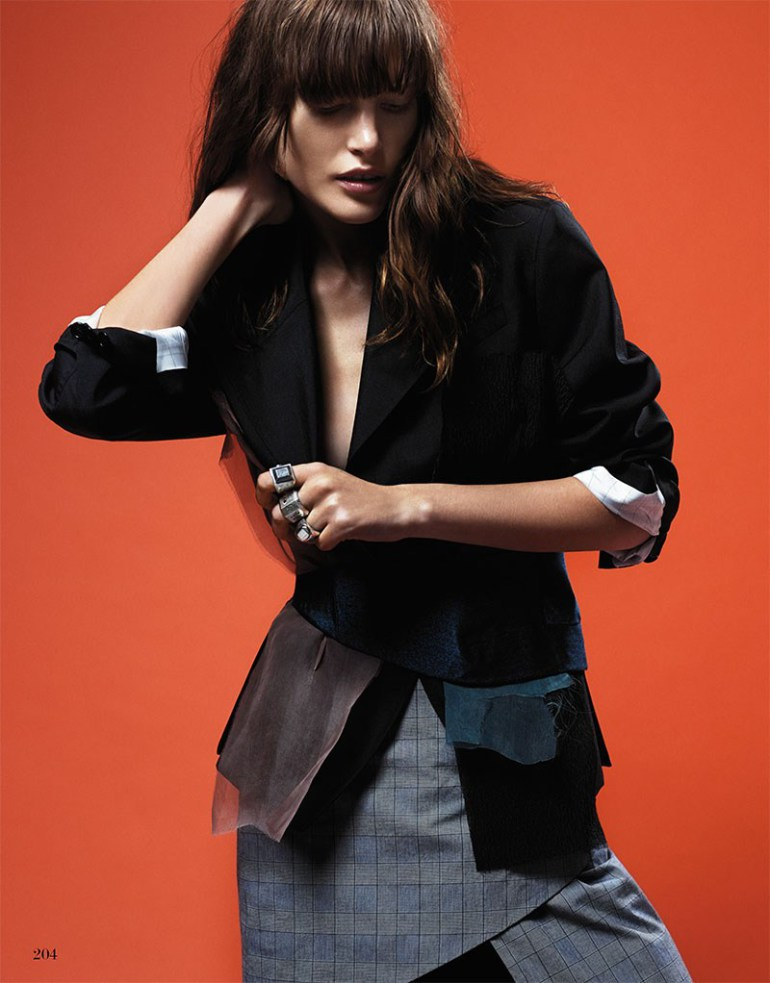 Catherine Mcneil By Dario Catellani For Interview Germany 9