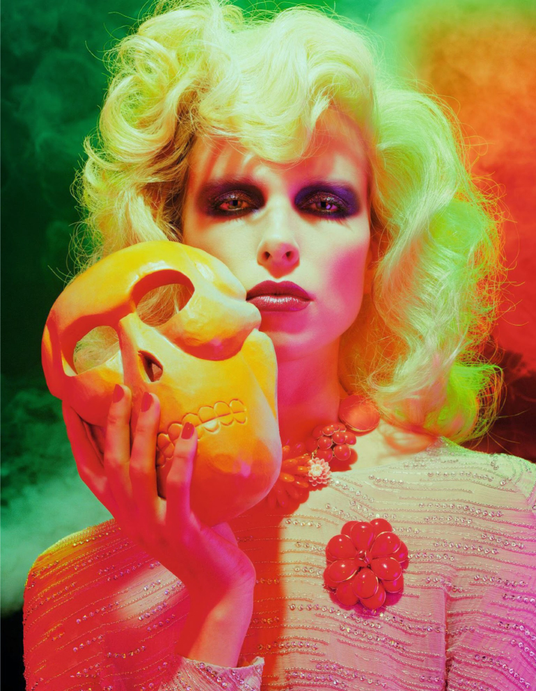 Lina Berg 'Divine' by Miles Aldridge for Numero 10