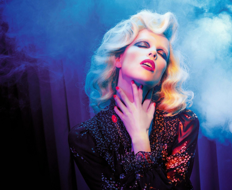 Lina Berg 'Divine' by Miles Aldridge for Numero 6