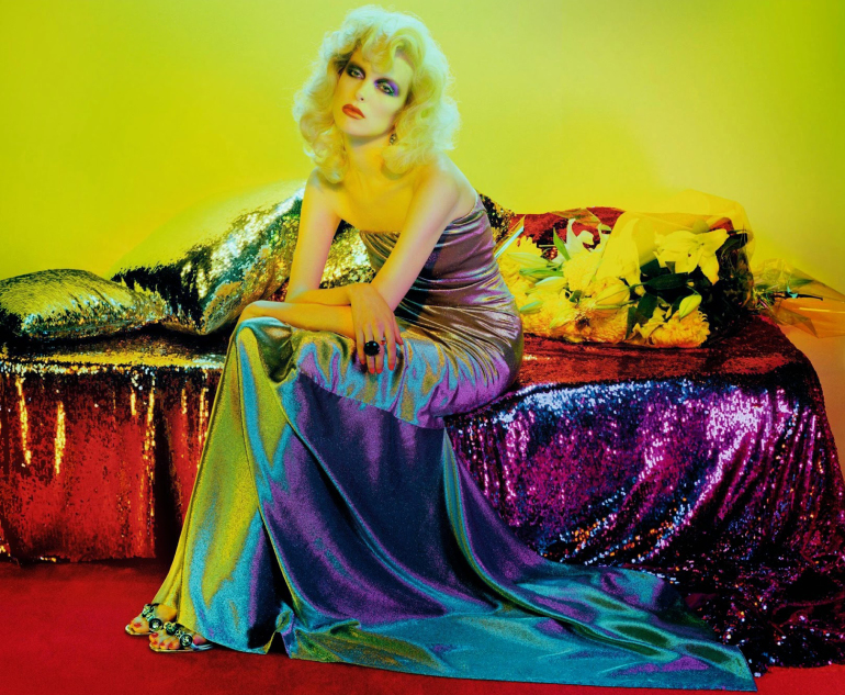 Lina Berg 'Divine' by Miles Aldridge for Numero 8