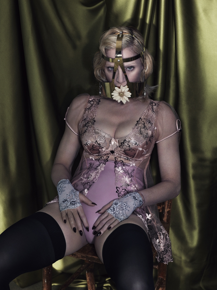 Madonna by Mert Alas & Marcus Piggott for Interview 10