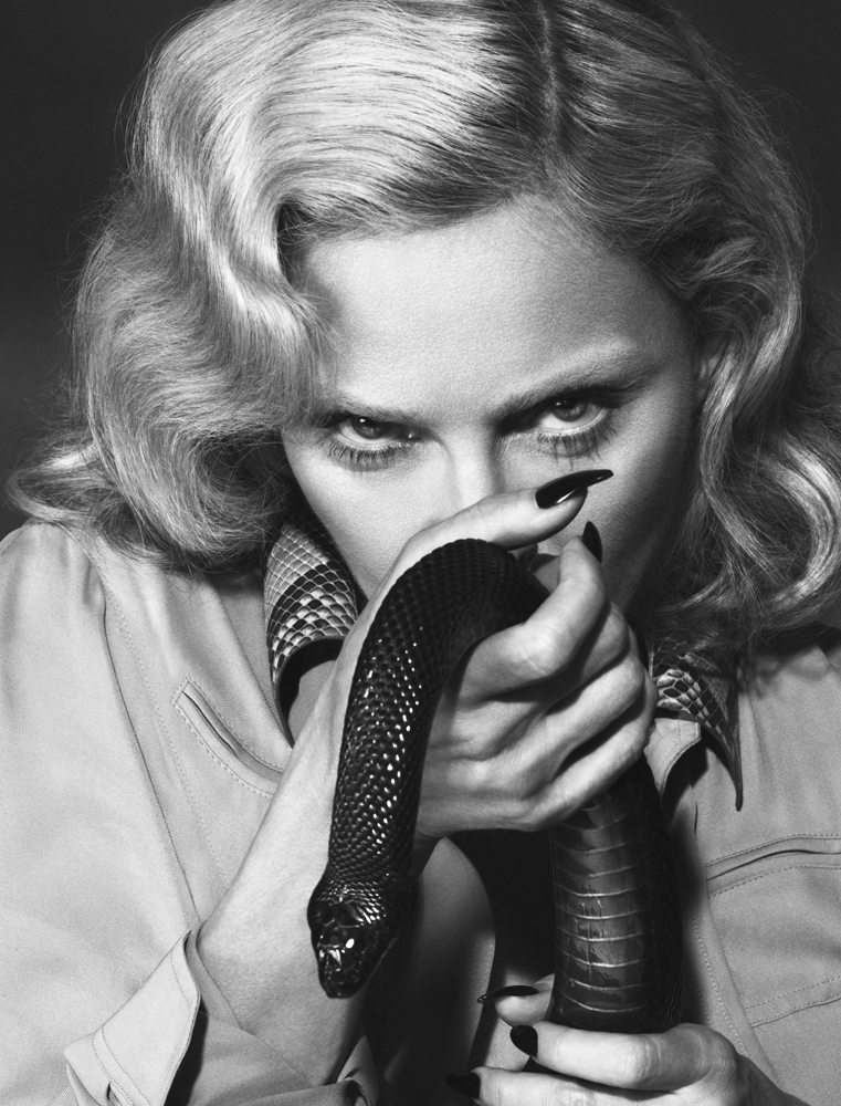 Madonna by Mert Alas & Marcus Piggott for Interview 15