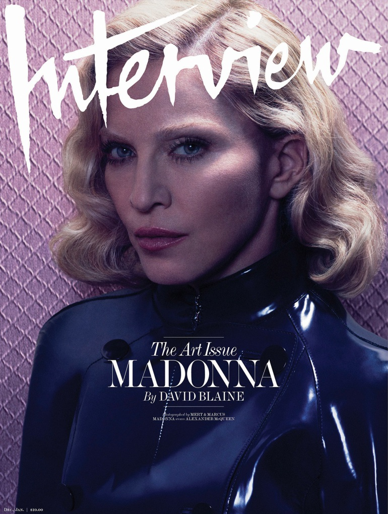 Madonna by Mert Alas & Marcus Piggott for Interview Cover 2