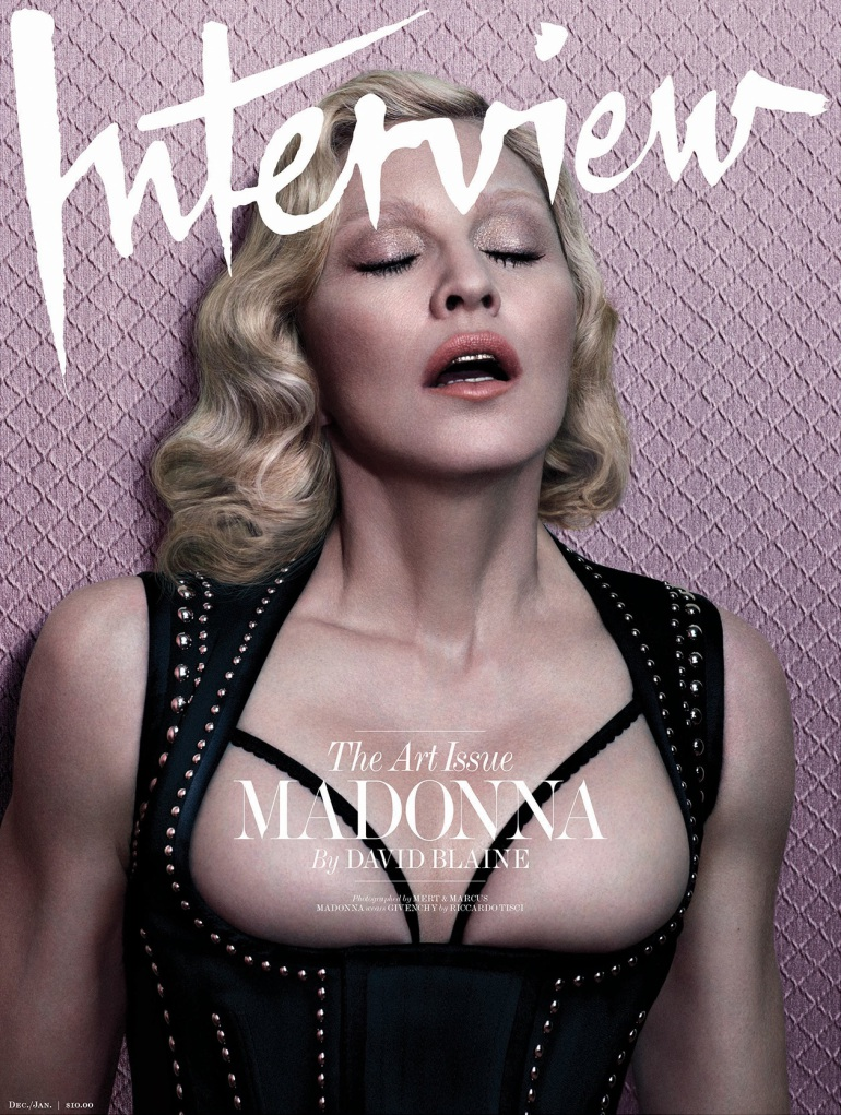 Madonna by Mert Alas & Marcus Piggott for Interview Cover 3
