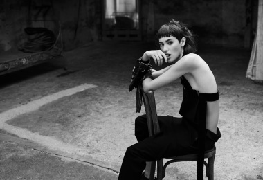 Margaux Brooke in Walk The Dark by Nicolas Guerin for