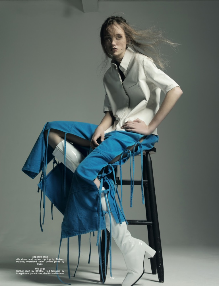 Pierre Debusschere 'Out of the Blue' For Dazed Winter 2014 5