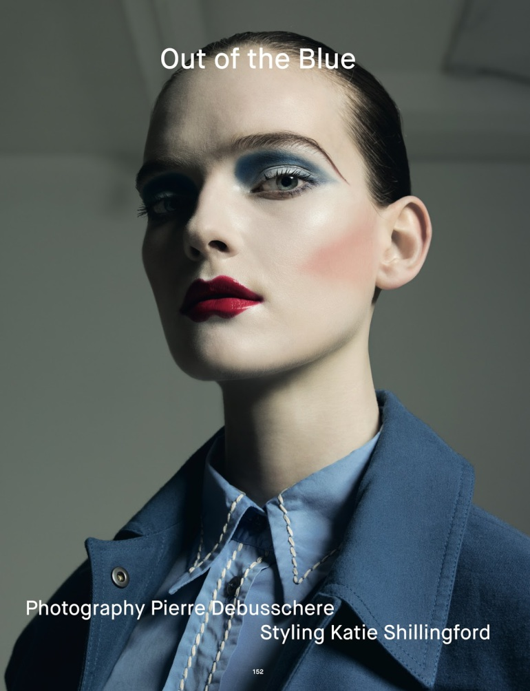 Pierre Debusschere 'Out of the Blue' For Dazed Winter 2014