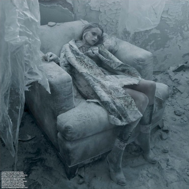 Abbey Lee Kershaw 'Grey Gardens' Fabien Baron For Interview 7