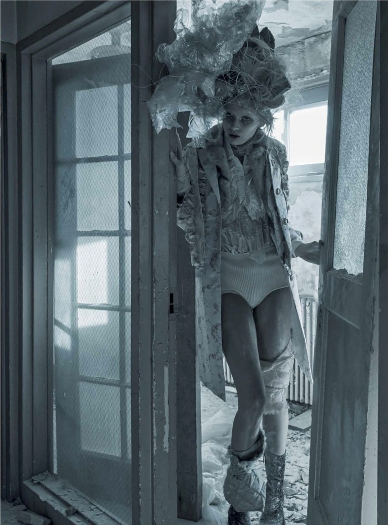 Abbey Lee Kershaw 'Grey Gardens' Fabien Baron For Interview 9
