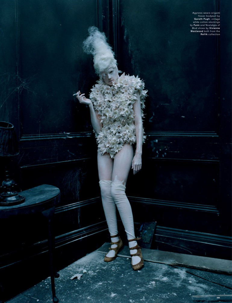 Agyness Deyn by Tim Walker for Love Magazine 11