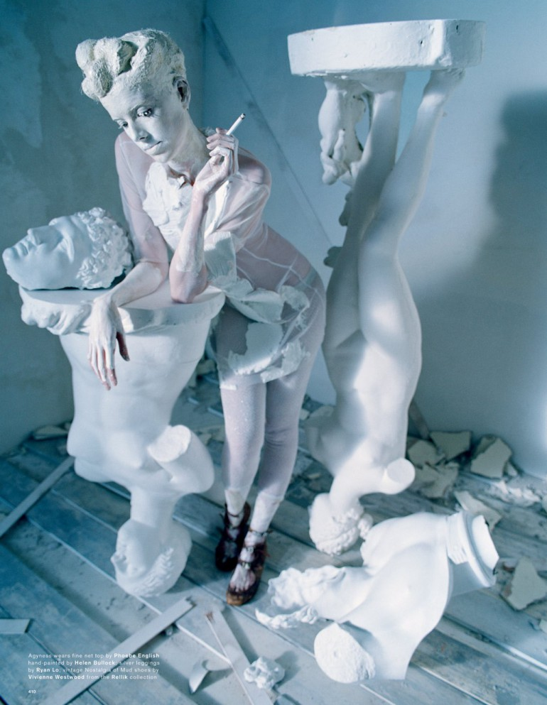 Agyness Deyn by Tim Walker for Love Magazine 21