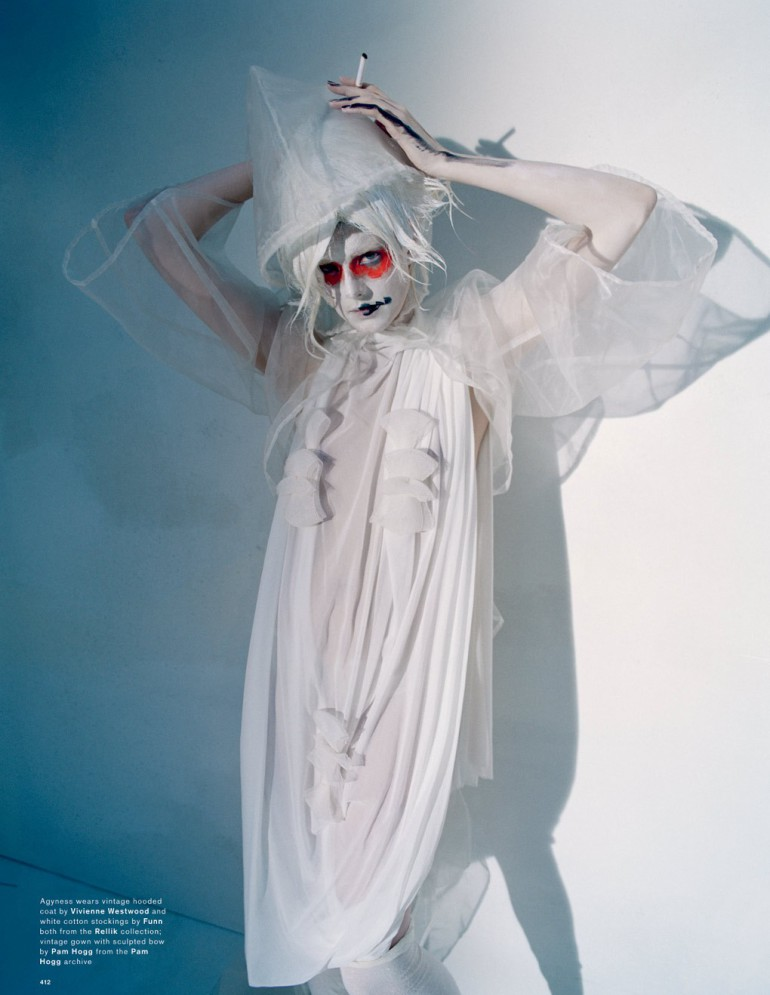 Agyness Deyn by Tim Walker for Love Magazine 26