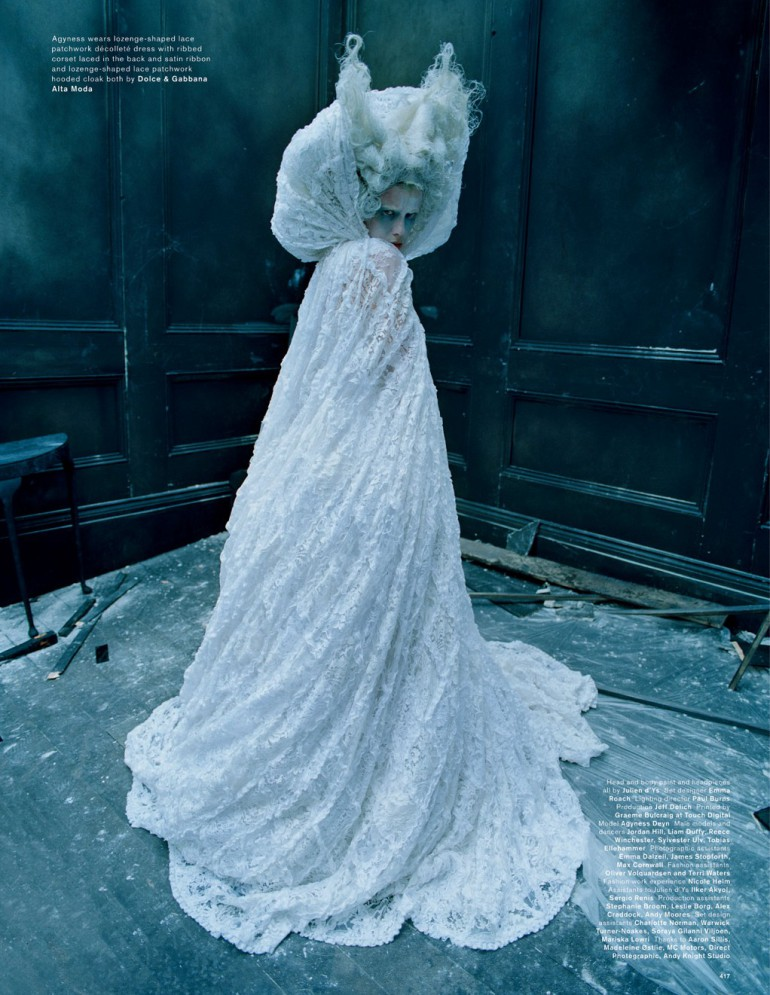 Agyness Deyn by Tim Walker for Love Magazine 30