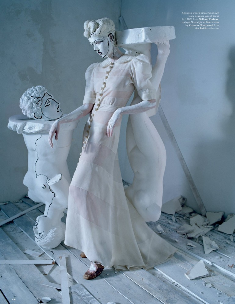 Agyness Deyn by Tim Walker for Love Magazine 34