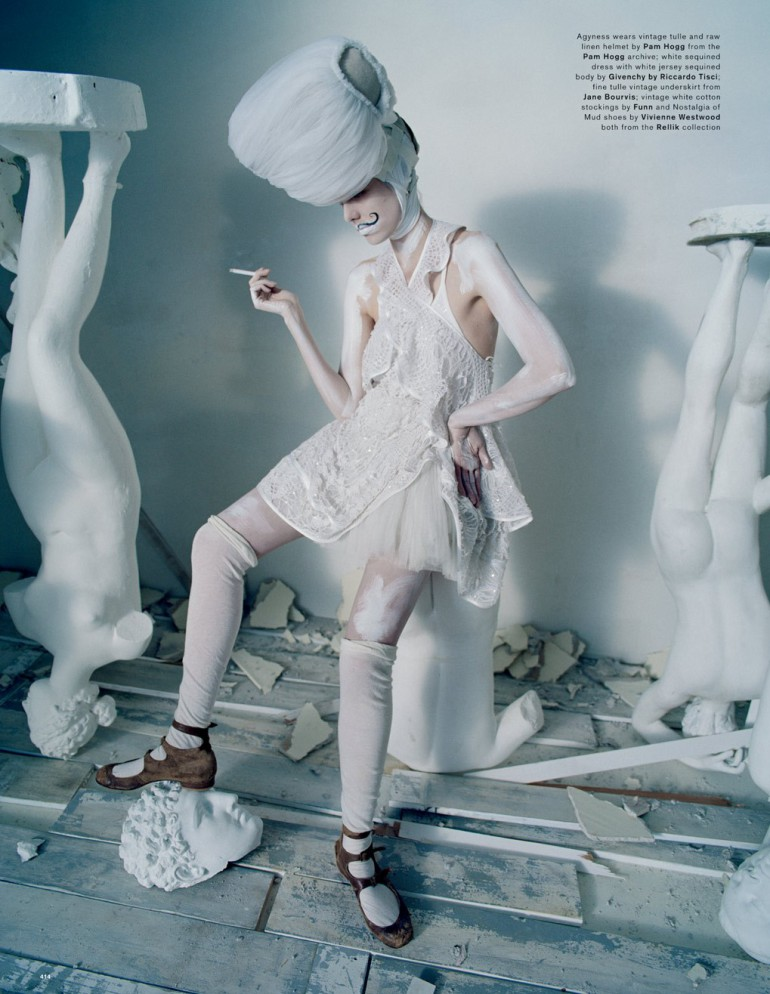 Agyness Deyn by Tim Walker for Love Magazine 35