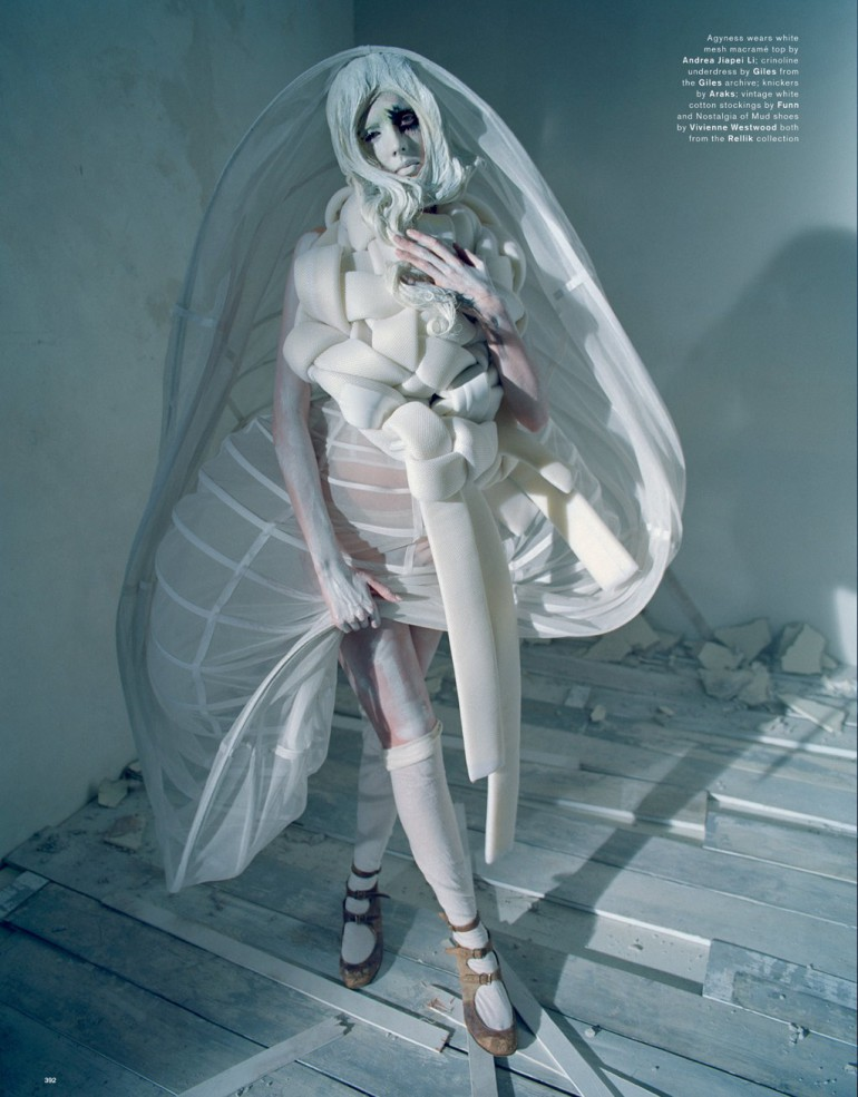 Agyness Deyn by Tim Walker for Love Magazine 4