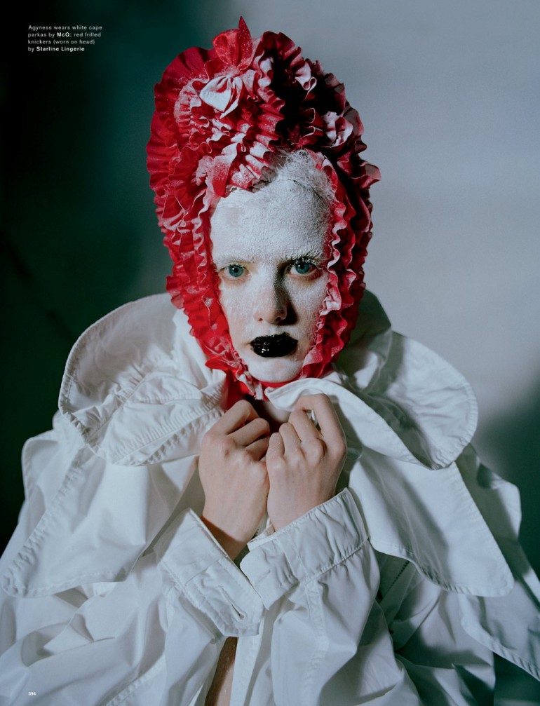 Agyness Deyn by Tim Walker for Love Magazine 6
