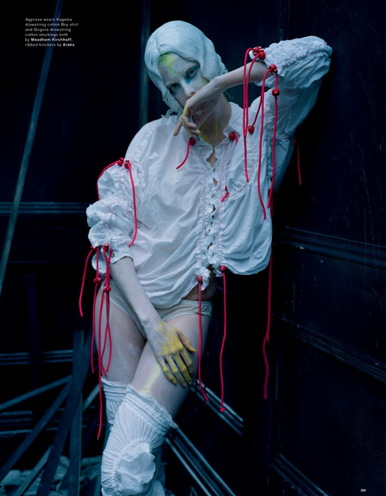 Agyness Deyn by Tim Walker for Love Magazine 8