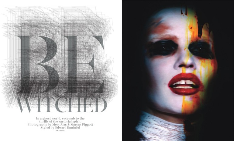 'Be Witched' Mert And Marcus For W Magazine 8