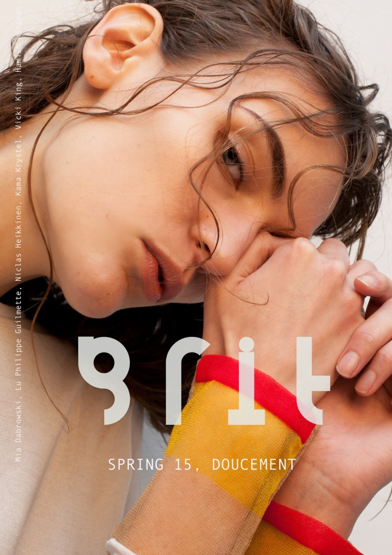 Fia Ljungstrom And Timur By Niclas Heikkinen For Grit Cover