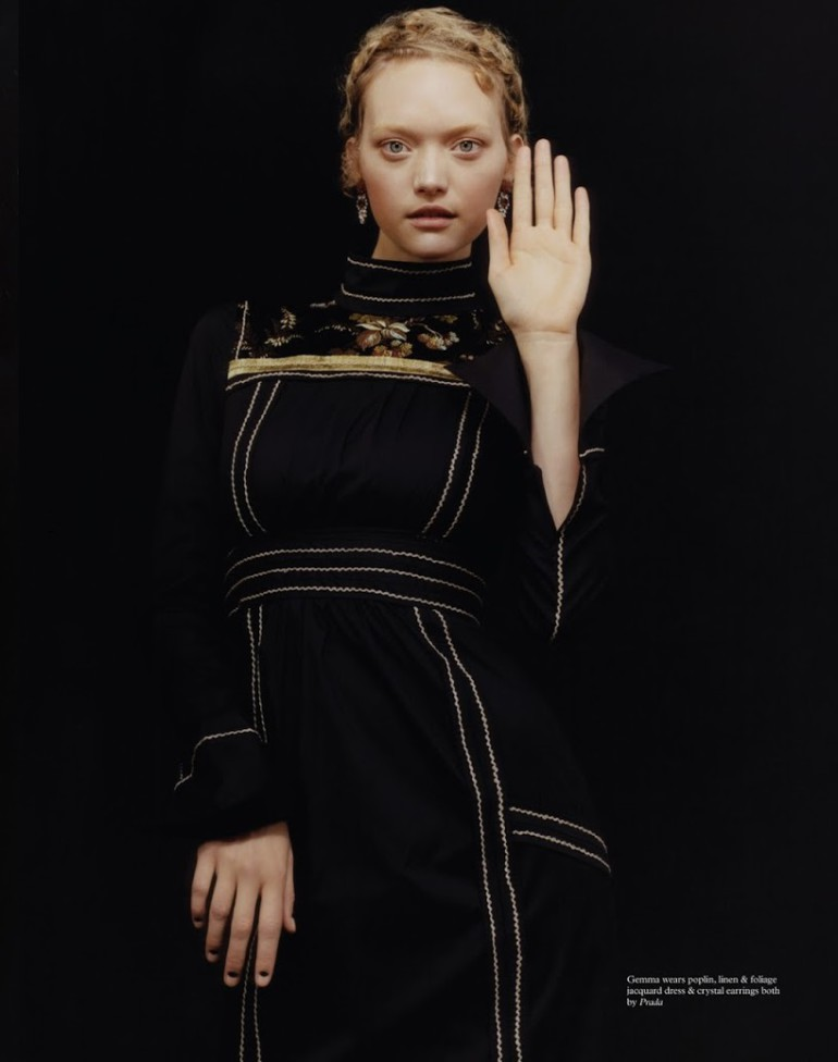 Gemma Ward By Harley Weir For Pop 5
