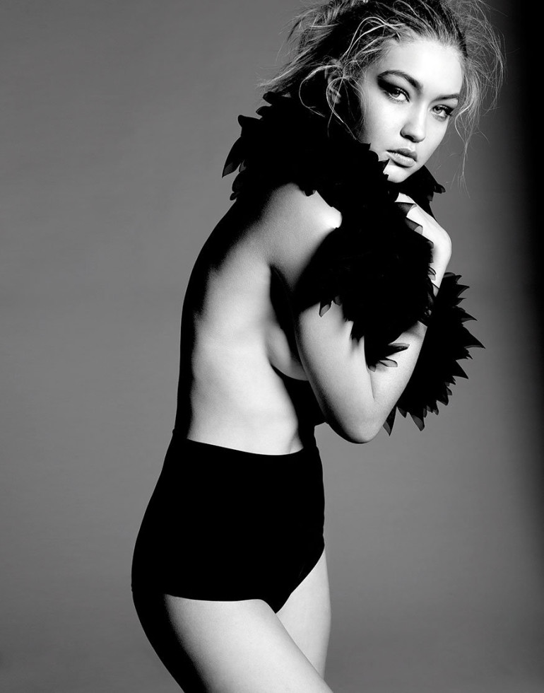 Gigi Hadid Model of the Year shot by Yu Tsai 2