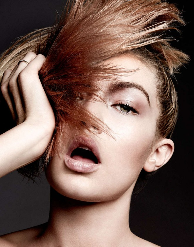 Gigi Hadid Model of the Year shot by Yu Tsai 24