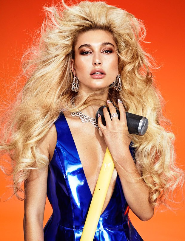 Hailey Baldwin by Matt Irwin for Wonderland 10