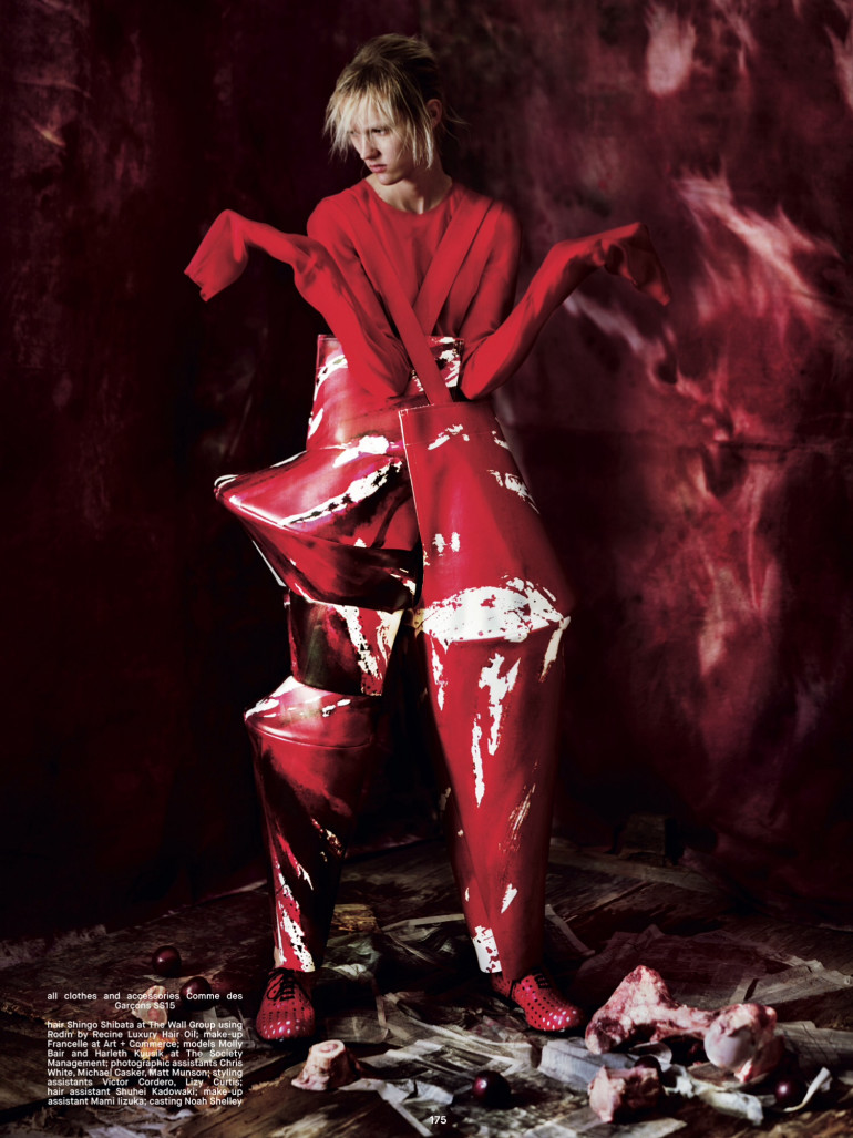 Jeff Bark 'War of Roses' Dazed Spring 2015 17