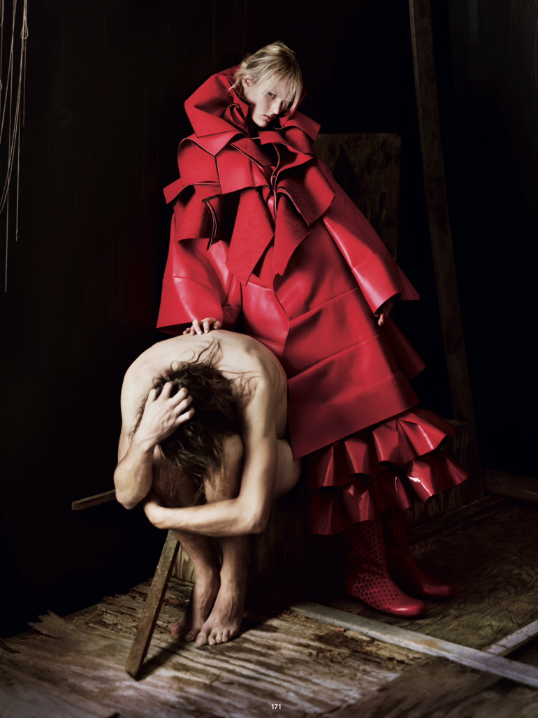 Jeff Bark 'War of Roses' Dazed Spring 2015 6