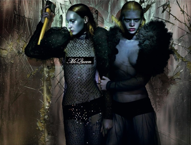 Nick Knight in 'McQueen' For AnOther 12