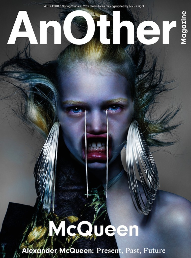 Nick Knight in 'McQueen' For AnOther cover