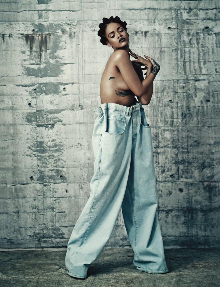 Rihanna by Paolo Roversi for i-D 2