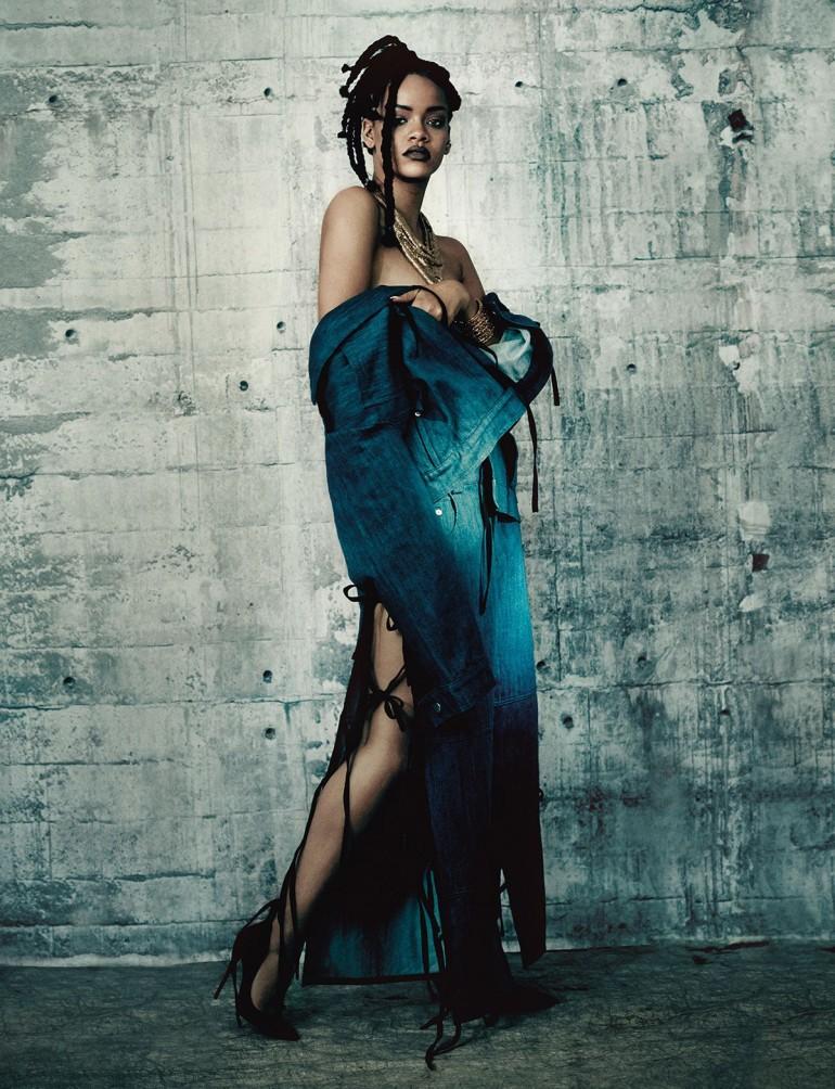Rihanna by Paolo Roversi for i-D