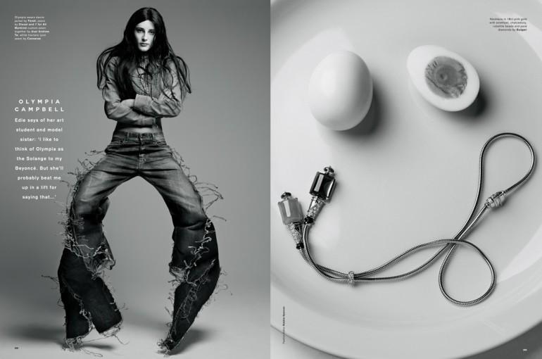 Sølve Sundsbø for Love Magazine #13 30