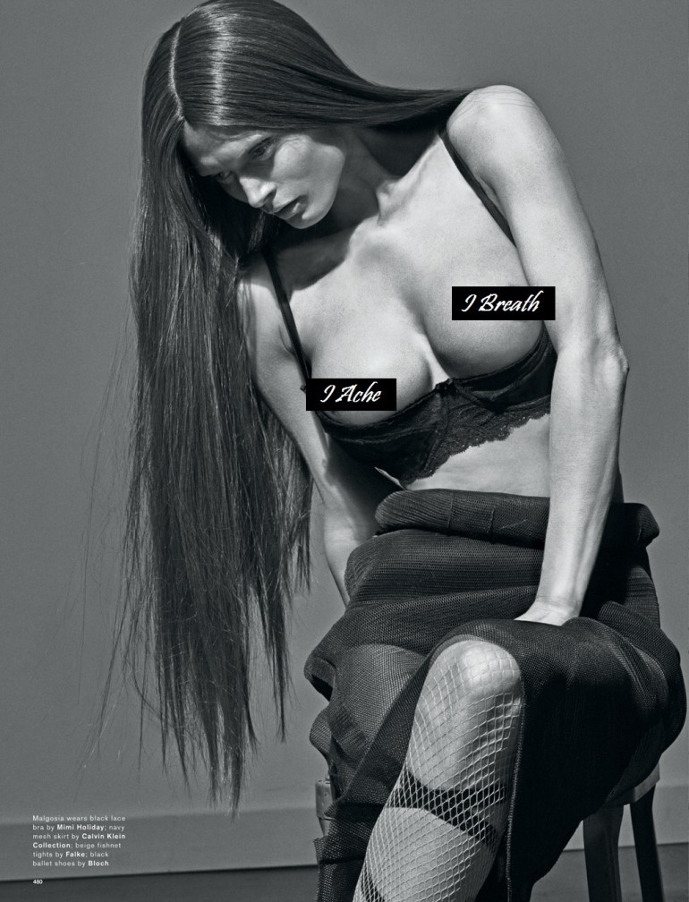 Steven Klein 'Boob's' Love Magazine 15