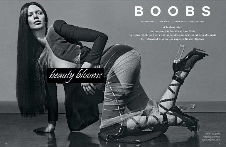 Steven Klein 'Boob's' Love Magazine  37