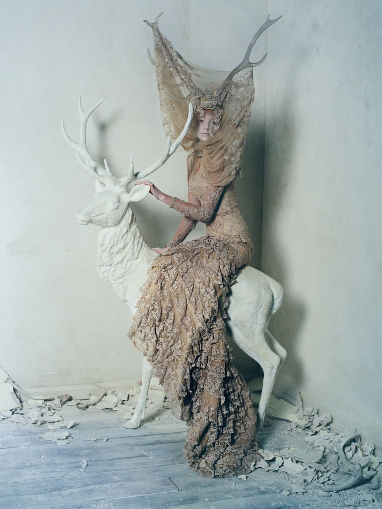 Tim Walker For Uk Vogue March 20154