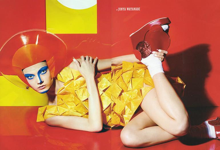 Yumi Lambert by Richard Burbridge for 10 Spring 201511