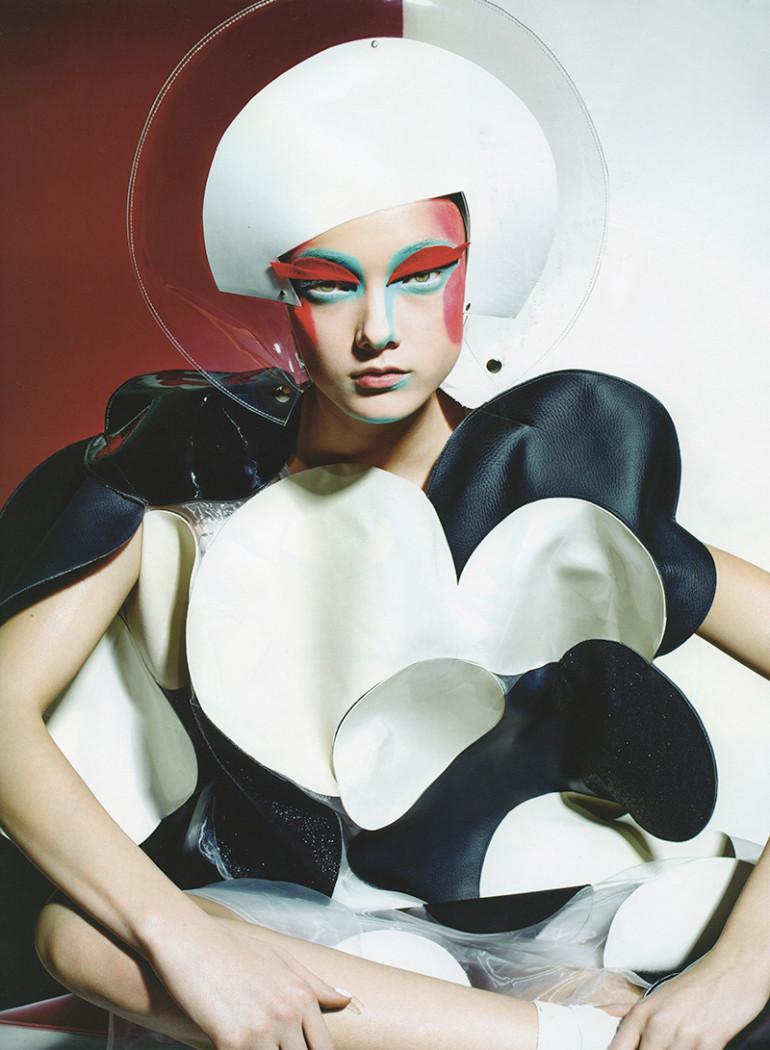 Yumi Lambert by Richard Burbridge for 10 Spring 201514