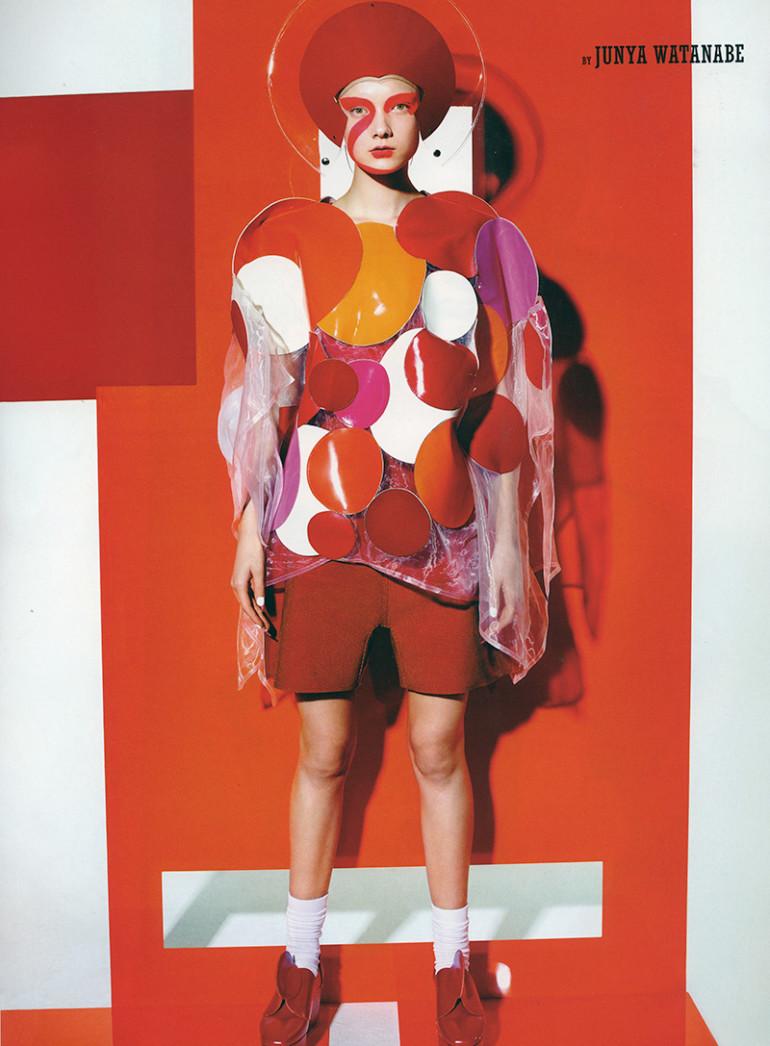 Yumi Lambert by Richard Burbridge for 10 Spring 201518